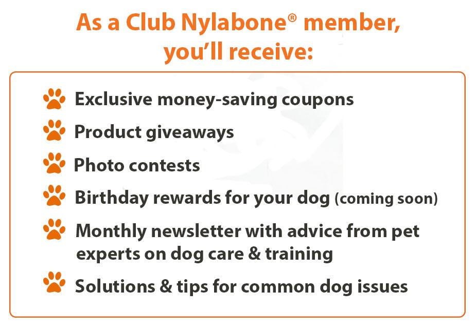 Club Nylabone Perks